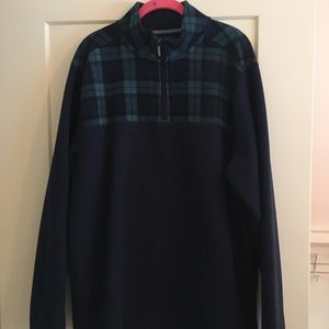 Brooks Brothers 1/4 Zip Shirt